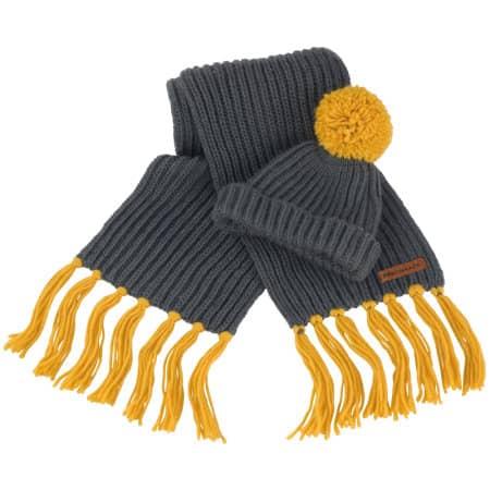 Chunky Knit Set von Result Winter Essentials (Artnum: RC362