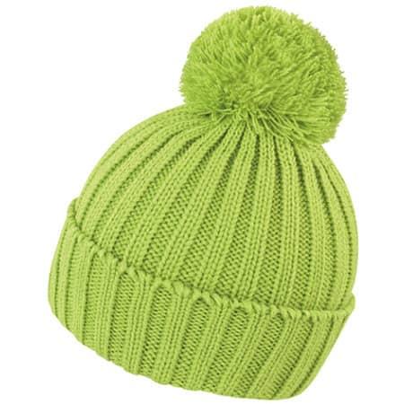 HDi Quest Knitted Hat in Lime von Result Winter Essentials (Artnum: RC369