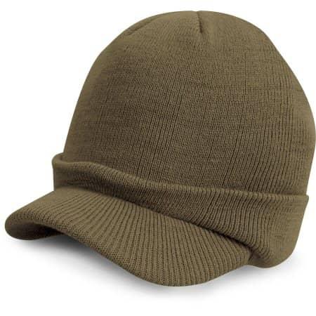 Youth Esco Army Knitted Hat von Result Winter Essentials (Artnum: RC60Y