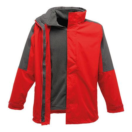 Defender III 3-in-1 Jacket in Classic Red|Seal Grey (Solid) von Regatta (Artnum: RG1300