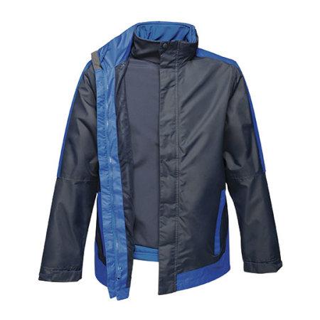 Men´s Contrast Softshell Jacket 3in1 in Navy|New Royal von Regatta (Artnum: RG151