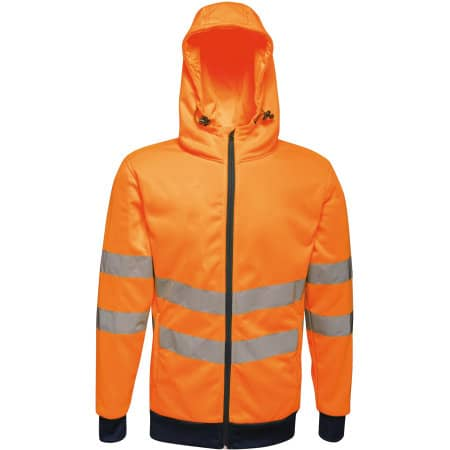 Hi-Vis Pro FZ Extol Stretch Hoodie Jacket von Regatta (Artnum: RG4710