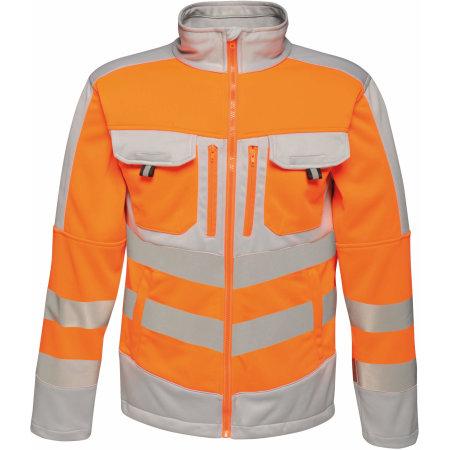 Hi-Vis Extol Stretch F/Z Jacket von Regatta Tactical (Artnum: RG4730
