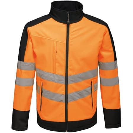 Hi-Vis Pro Softshell Jacket von Regatta (Artnum: RG625