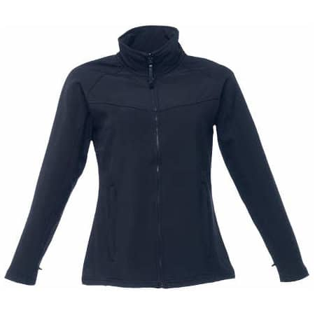 Women`s Uproar Softshell Jacket in Black|Black von Regatta (Artnum: RG645
