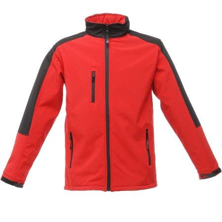 Hydroforce Softshell in Classic Red|Black von Regatta (Artnum: RG650