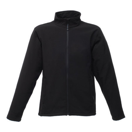 Reid Softshell Jacket in Black von Regatta (Artnum: RG654
