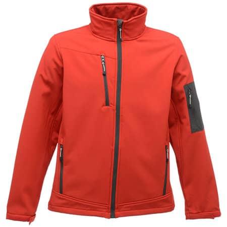 Softshelljacket Arcola in Classic Red|Seal Grey (Solid) von Regatta (Artnum: RG674