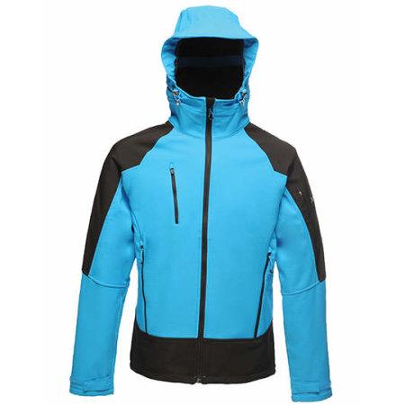 X-Pro Powergrid Hooded Softshell Jacket in  von Regatta X-PRO (Artnum: RG682