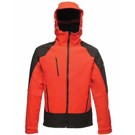X-Pro Powergrid Hooded Softshell Jacket von Regatta X-PRO (Artnum: RG682