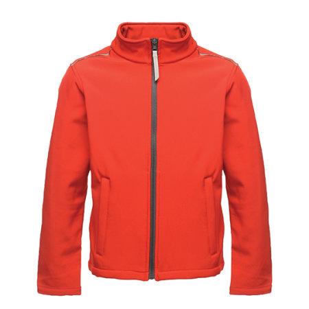 Kids` Classmate Softshell Jacket in Classic Red|Seal Grey (Solid) von Regatta (Artnum: RG683