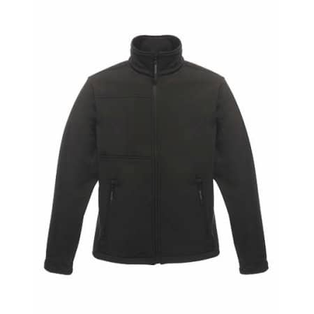 Men`s Softshell Jacket - Octagon II in Black|Black von Regatta (Artnum: RG688