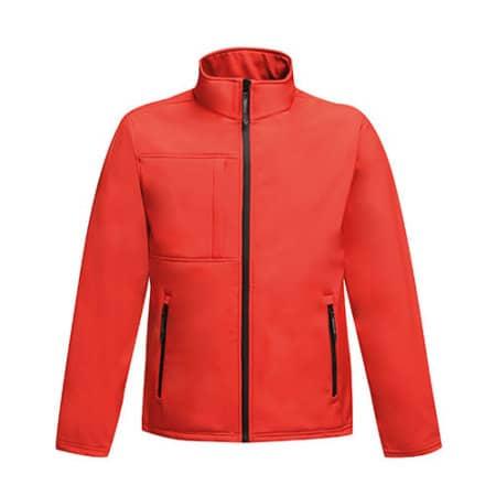 Men`s Softshell Jacket - Octagon II in Classic Red|Black von Regatta (Artnum: RG688