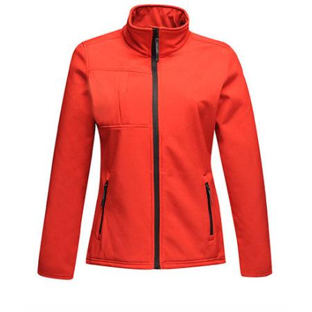 Women`s Softshell Jacket - Octagon II in Classic Red|Black von Regatta (Artnum: RG689