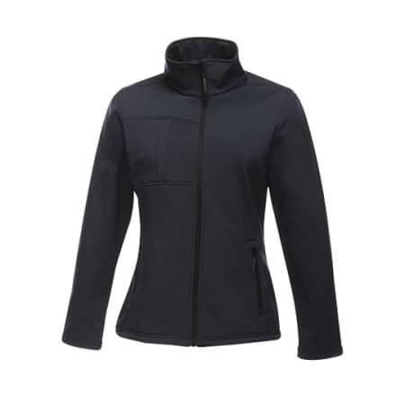 Women`s Softshell Jacket - Octagon II in Navy Seal Grey (Solid) von Regatta (Artnum: RG689