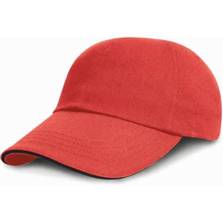 Heavy Brushed Cotton Cap von Result Headwear (Artnum: RH24P