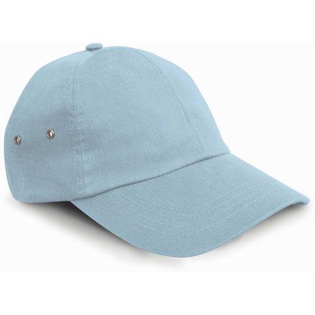Plush Cap in Powder Blue von Result Headwear (Artnum: RH63