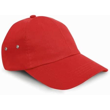 Plush Cap in Red von Result Headwear (Artnum: RH63