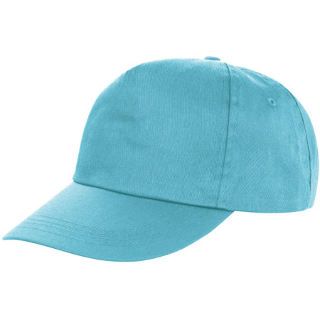 Houston 5-Panel Cap in Aqua von Result Headwear (Artnum: RH80