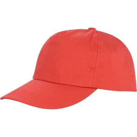 Houston 5-Panel Cap in Red von Result Headwear (Artnum: RH80
