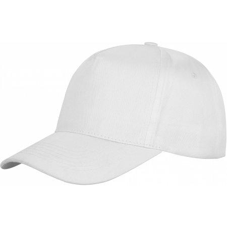 Houston 5-Panel Cap in White von Result Headwear (Artnum: RH80