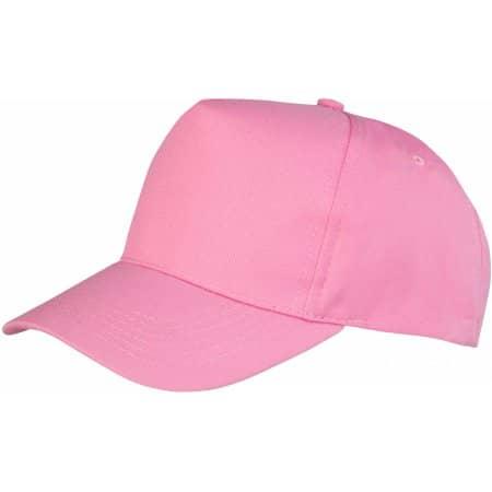 Boston 5-Panel Cap in Pink von Result Headwear (Artnum: RH84