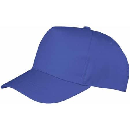 Boston 5-Panel Cap in Royal von Result Headwear (Artnum: RH84