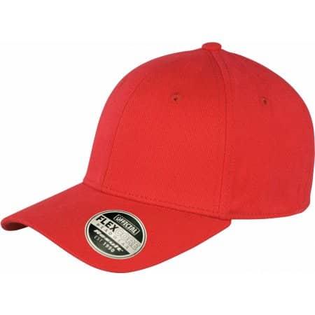 Kansas Flex Cap in Red von Result Headwear (Artnum: RH85