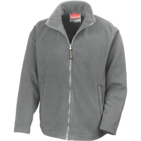 Horizon Micro Fleece Jacket in Dove Grey von Result (Artnum: RT115