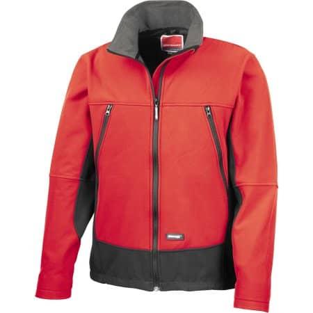 Activity Softshell Jacket in Red|Black von Result (Artnum: RT120