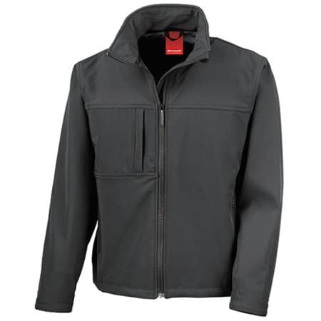 Classic Soft Shell Jacket in Black von Result (Artnum: RT121