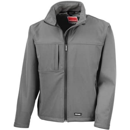 Classic Soft Shell Jacket in Grey von Result (Artnum: RT121