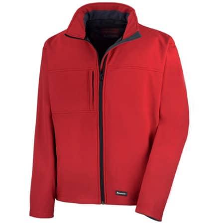 Classic Soft Shell Jacket in Red von Result (Artnum: RT121