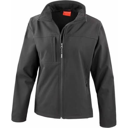 Ladies` Classic Soft Shell Jacket in Black von Result (Artnum: RT121F