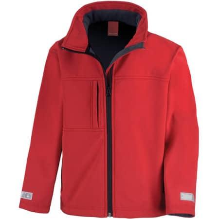 Junior Classic Soft Shell Jacket von Result (Artnum: RT121J