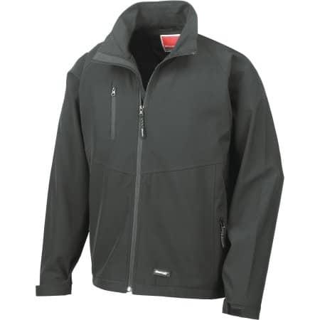 Men`s Base Layer Soft Shell Jacket von Result (Artnum: RT128M
