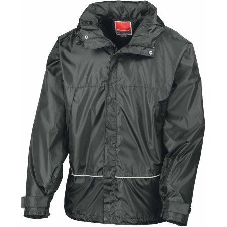 Waterproof 2000 Midweight Jacket in Black von Result (Artnum: RT155X