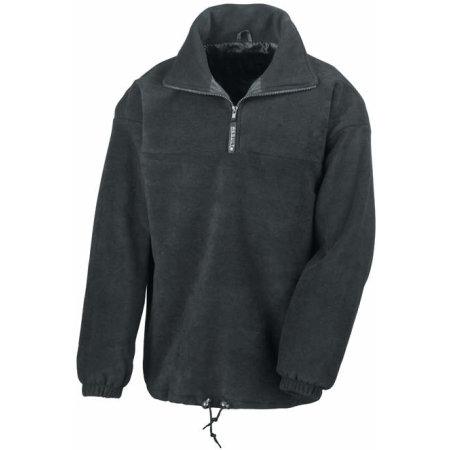 1/4 Zip Fully Lined Fleece Top von Result (Artnum: RT17