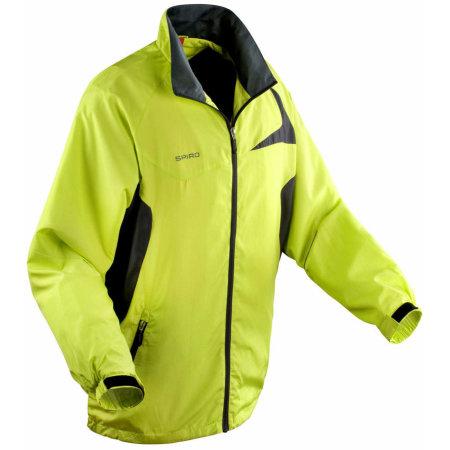 Micro Lite Jacket in Lime Grey von SPIRO (Artnum: RT180