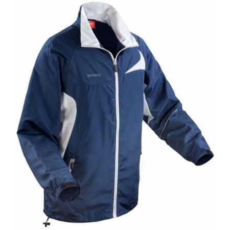 Micro Lite Jacket in Navy|White von SPIRO (Artnum: RT180