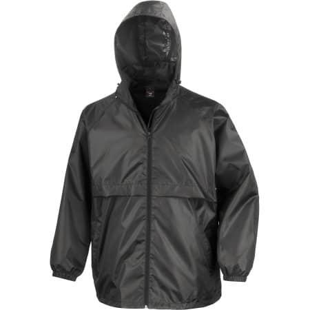 Lightweight Jacket in Black von Result Core (Artnum: RT205