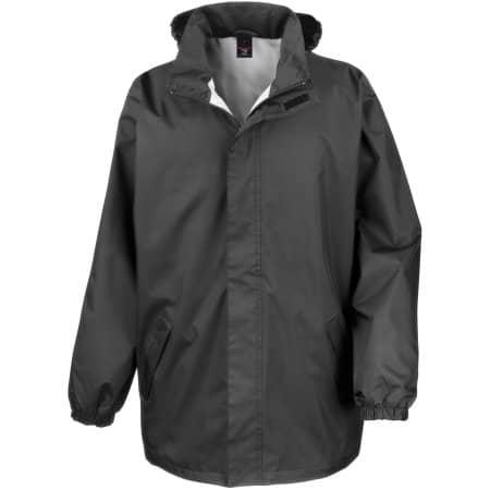 Midweight Jacket in Black von Result Core (Artnum: RT206