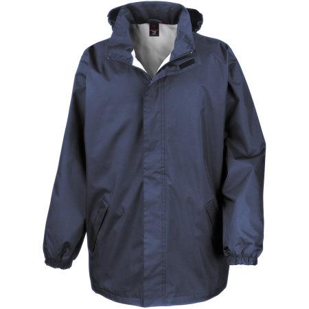 Midweight Jacket in Navy von Result Core (Artnum: RT206