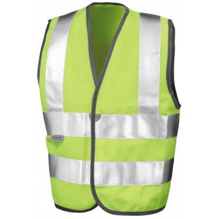 Junior Safety Hi-Viz Vest von Result (Artnum: RT21J