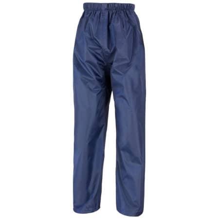 Junior Waterproof Over Trousers von Result Core (Artnum: RT226J