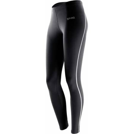 Ladies` Bodyfit Base Layer Leggings von SPIRO (Artnum: RT251F