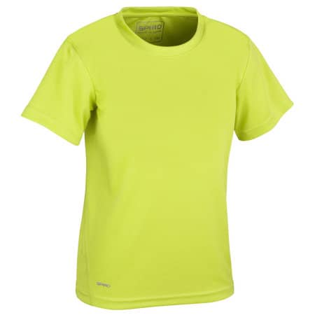 Junior Quick Dry T-Shirt von SPIRO (Artnum: RT253J