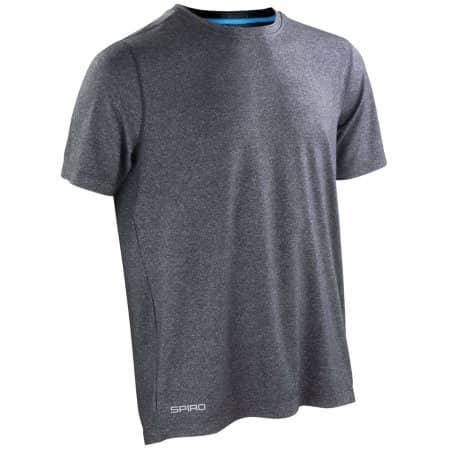 Fitness Men`s Shiny Marl T-Shirt von SPIRO (Artnum: RT271