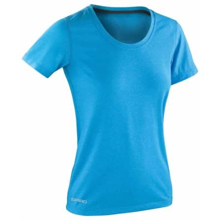 Fitness Women`s Shiny Marl T-Shirt von SPIRO (Artnum: RT271F
