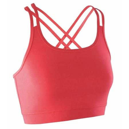Fitness Women`s Crop Top von SPIRO (Artnum: RT274F